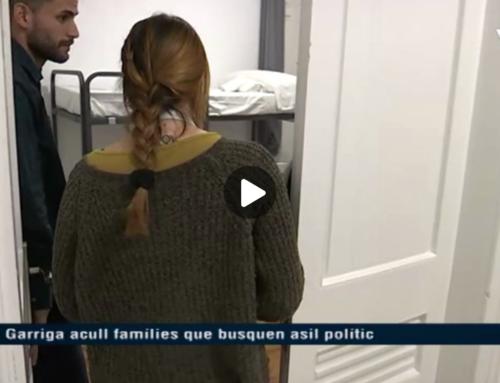 La Garriga acull famílies que busquen asil polític